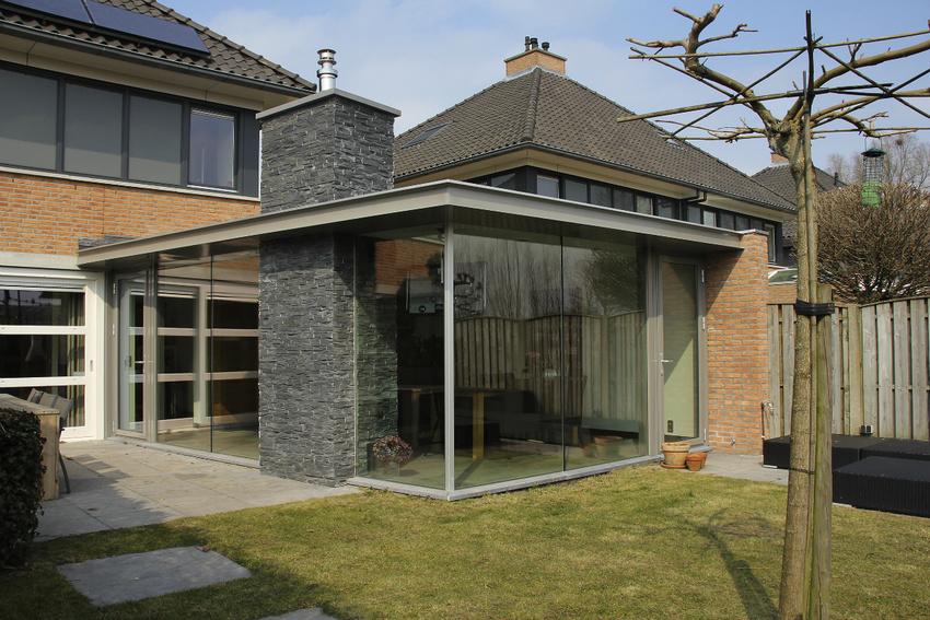 Van beijsterveldt gommers architecten verbouwingen - Uitbreiding huis glas ...